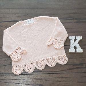 Zara Girl's Summer Collection Knit Top